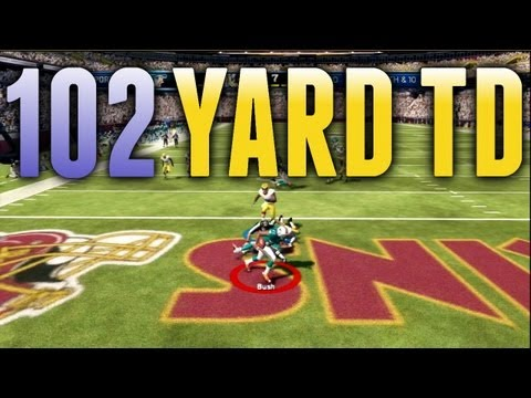 Madden 13 Highlight - 102 Yard FUMBLED PUNT RETURN TOUCHDOWN!