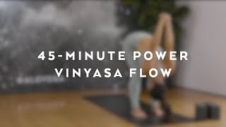 45-Minute Power Vinyasa Flow With Briohny Smyth