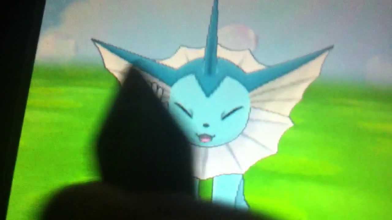 Pokemon x And y Vaporeon Vaporeon in Pokemon-amie