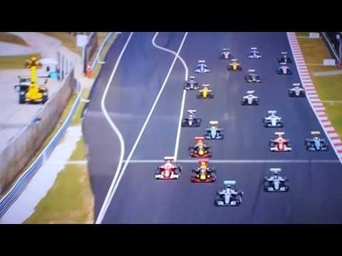 Formula 1 Malaysian GP: start Verstappen, crash Vettel & Rosberg