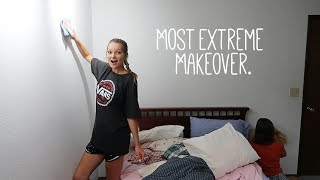 the most EXTREME room makeover you'll ever watch