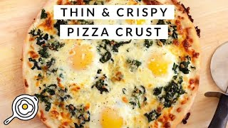 30 Minute Thin & Crispy Pizza Crust