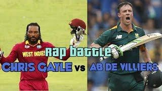 Chris Gayle vs AB de Viilers | Rap Battle