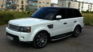Обзор Range Rover Sport Supercharged 510hp