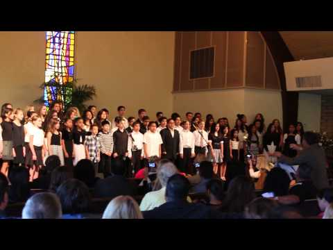 Oceanside Adventist Elementary Choir - 04/28/2014