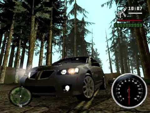 Grand Theft Auto: San Andreas: Pontiac G8 GXP