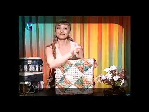 Quilting. We sew bags of calico and linen - YouTube