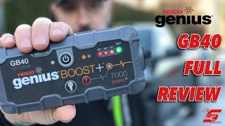 NOCO Genius Boost GB40 Unboxing and Review