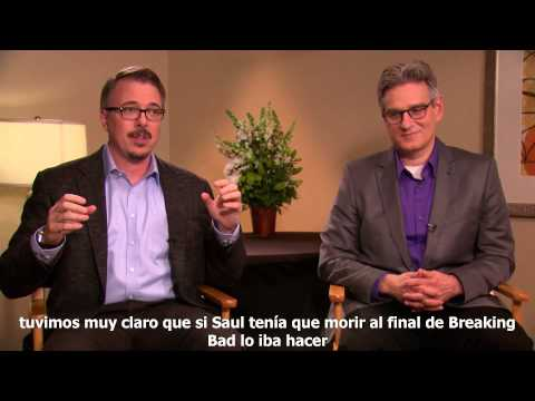 MOVISTAR SERIES - Better Call Saul Entrevista a Vince Gilligan y Peter Gould