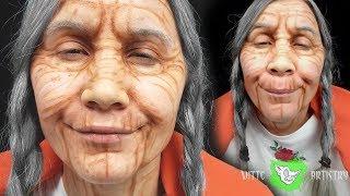✅MAMA COCO MAKEUP TUTORIAL (Old Age)- Disney Pixar Coco Makeup
