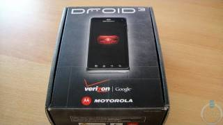 DROID 3 By Motorola Unboxing And First Impressions - BWOne.com