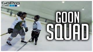GoPro Hockey   THE GOON SQUAD *FIGHTS*