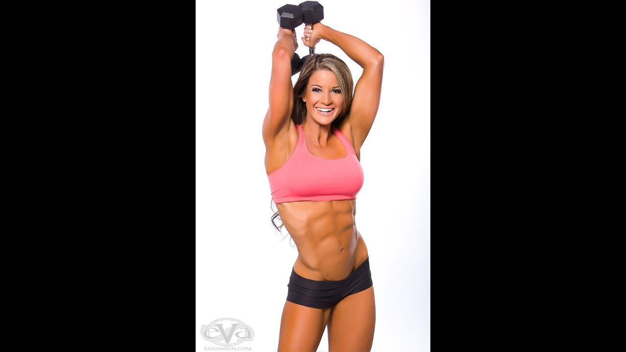 Has sexy body builder woman picture yes