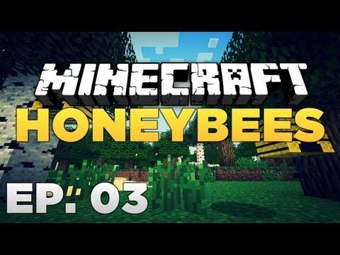 MINECRAFT 1.4.7 - MOD REVIEWS - Ep. 03 - Honeybees!