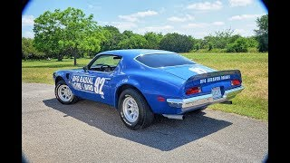 Pontiac Trans Am Promo Race Car Barn Find Appears Out of the Blue, Plus Giant Trans Am Collection