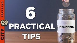 6 practical prepping budget tips w/Prepper Princess