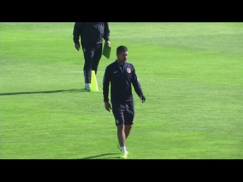 Atletico Madrid prepare for Juventus clash