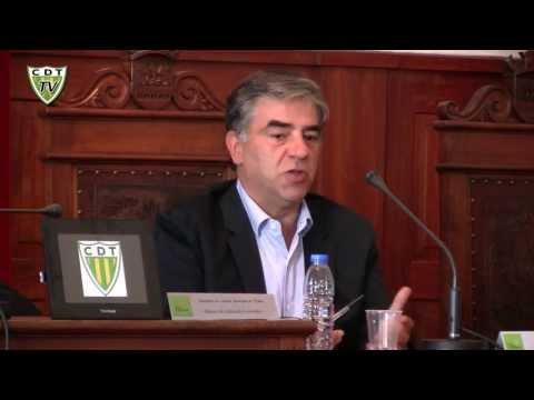Conferência de Imprensa - Protocolo CM Tábua 2013-2014