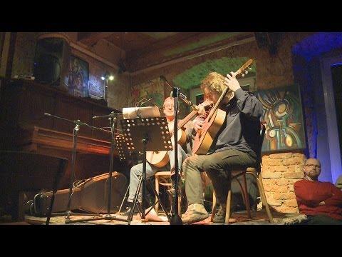 Poezja śpiewana  W Galerii Wzgórze (Grzegorz Holerek, Paweł Janowski, Maria Bury)