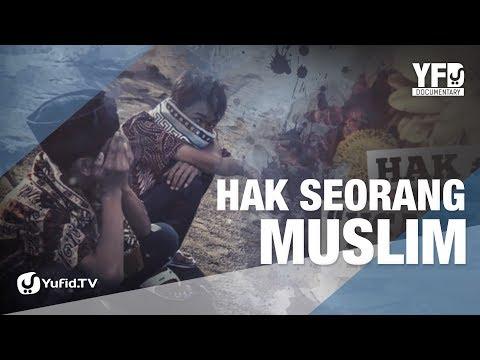 Hak Seorang Muslim - Motion Graphic