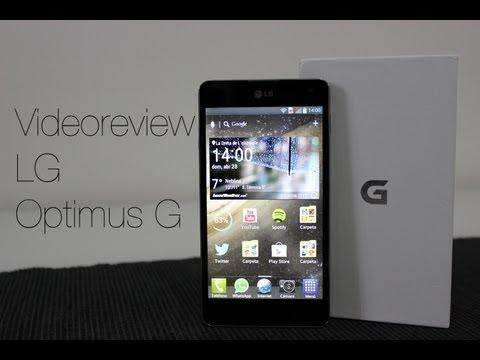Videoreview LG Optimus G