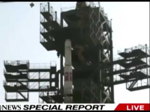 North Korean MIissile Crashes Moments After Launch