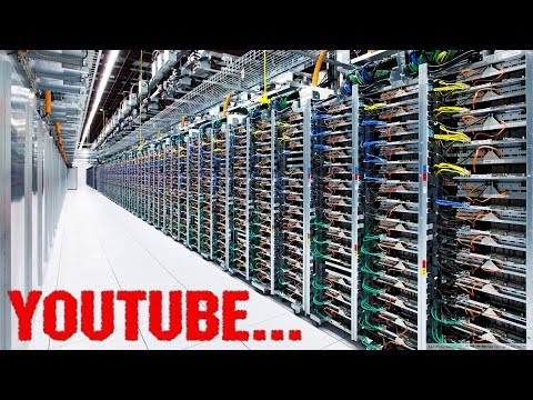 БОЛЕЕ 90 МЛН ГИГАБАЙТ ВИДЕО В ГОД! БЕЗУМНЫЕ РАЗМЕРЫ YouTube!