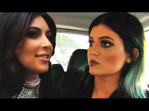 Kim Kardashian Disses Kylie Jenner's Blue Hair