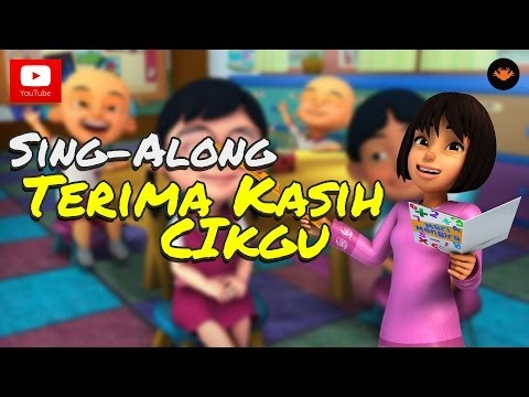 Upin & Ipin - Terima Kasih Cikgu [Official Music Video) (With Lyric)