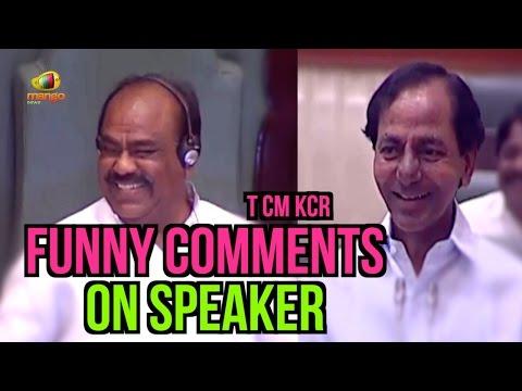 KCR Funny Comments On Telangana Speaker Madhusudhana Chary | Mission Kakatiya | Assembly Session