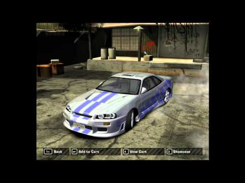 2Fast 2Furious Skyline in NFS:MW