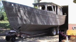 "Selbstbau der ""Regusta C"" in Breiholz (self-build boat) - VideoGustav"