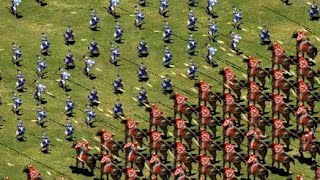 Age of Empires II - 600 Imperial Skirmishers vs 600 Elite Genitours