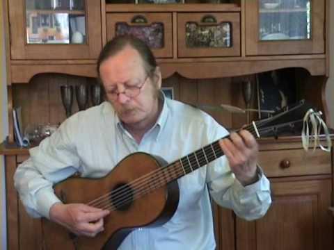 Mauro Giuliani - Etude (Study) opus 50 n°23 - Romantic guitar