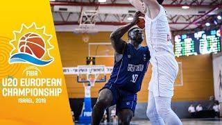 LIVE - Serbia v Great Britain - FIBA U20 European Championship 2019