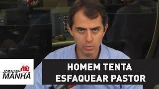Homem tenta esfaquear pastor em Tatuí SP; culto era transmitido ao vivo no Facebook