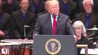 President Trump DESTROYS The FAKE NEWS Liberal Media At Celebrate Freedom Rally