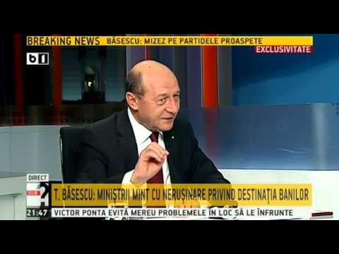Sub semnul intrebarii, 31 martie 2014, invitat Traian Basescu - emisiune completa