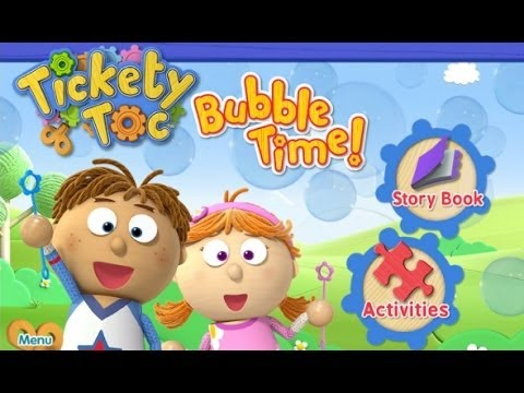 Tickety Toc Bubble Time iPad App Review (Demo) (Walkthrough)