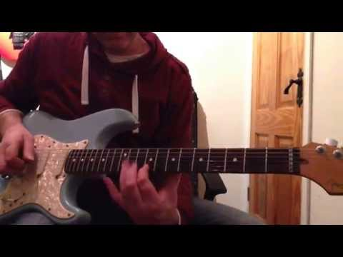 Lesson Guitar - Half-whole Scale Ideas Examples