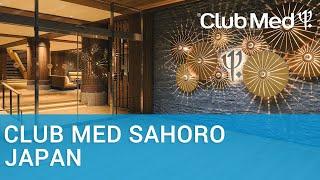 4* Club Med Sahoro in Hokkaido, Japan