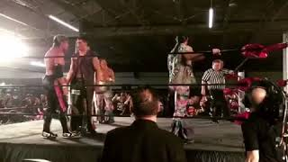Highlights from Arrow's Stephen Amell's debut match for ROH!