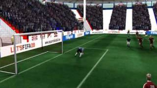 FIFA 09 goalkeeper blooper
