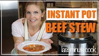 Beef and potato stew Instant Pot Ultra