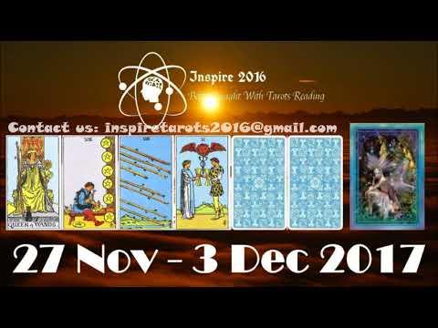 Aries Weekly Tarot Reading 27 November - 3 December 2017 (Special Gemini Full Moon)