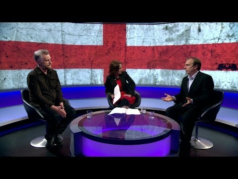 What does it mean to be English? Billy Bragg and Peter Hitchens - Newsnight