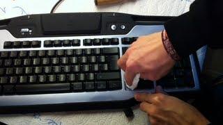 Tastatur reinigen - Computer Tastatur gründlich reinigen