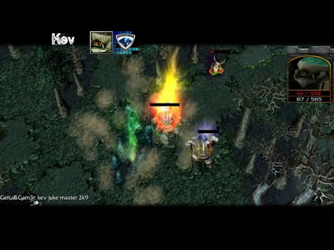 DotA pro Ganks and Escapes 2011
