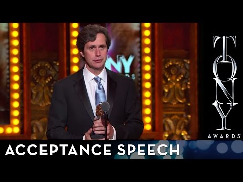 2014 Tony Awards: Acceptance Speech - Brian Ronan