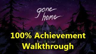 Gone Home - 100% Achievement Walkthrough